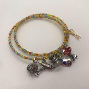I ❤️ Crafting Wrap Bangle Bracelet